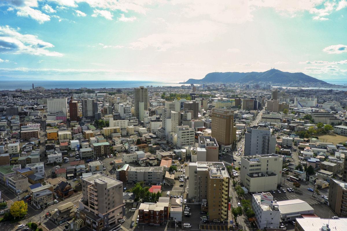 国勢調査の順位が100年前と同じだったら、函館は130~150万都市となる